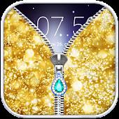 Download Glitter Zip Lock Screen Prank APK on PC