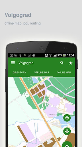 Volgograd Map offline screenshot 9