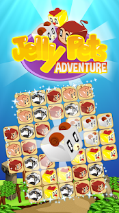 Jelly Pets Adventure Match 3 - screenshot
