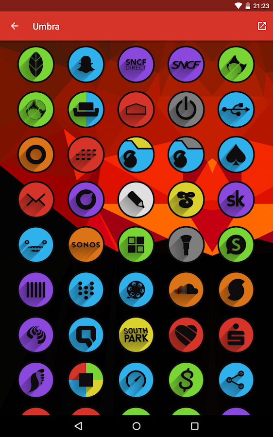 Umbra - Icon Pack Screenshot 16