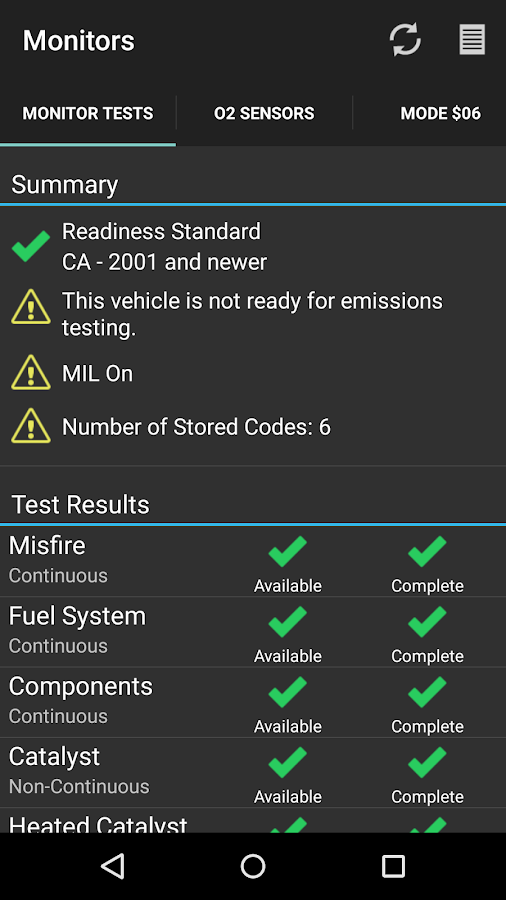 OBD Fusion (Car Diagnostics) Screenshot 4