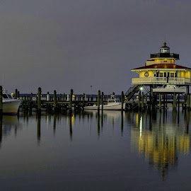 2.19.17 #choptankriverlighthouse #choptanklighthouse #choptanklight #choptankriver #choptank #longwharf #longwharfpark #cambridge #cambridgemd #igmaryland #dorchestercounty #md #maryland #visitdorchester #visitmaryland by Ruth Workman - Landscapes Waterscapes