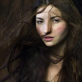 by Valentyn Kolesnyk - People Portraits of Women