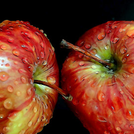 Apple by Asif Bora - Digital Art Things