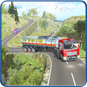 Oil Tanker Fuel Hill Transport APK Descargar