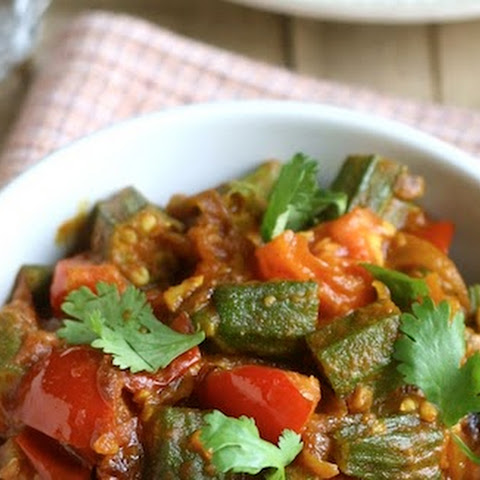 Okra & Tomato Curry