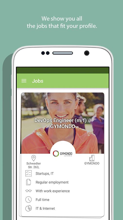 Truffls Job Search: Swipe Jobs Screenshot 2