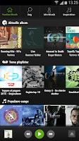 Screenshot of YouSee Musik