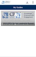 Screenshot of CPCU Society