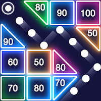 Bricks Breaker  Glow Balls on PC (Windows & Mac)