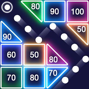 Bricks Breaker - Glow Balls Online PC (Windows / MAC)