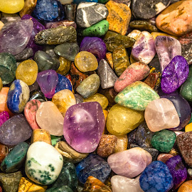 Polished Rocks by Dave Lipchen - Nature Up Close Rock & Stone ( polished rocks )