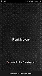 Frank Mover Service - screenshot