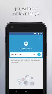 GoToWebinar Screenshots