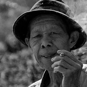 The Farmer by Ridwan Handoyo - People Portraits of Men