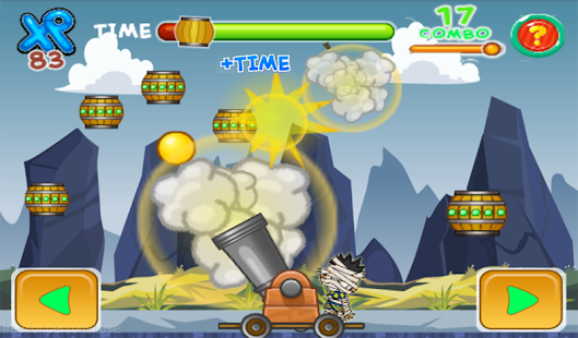 Zombie punch action game - screenshot