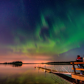 The Northern Light by Joseph Law - Landscapes Starscapes