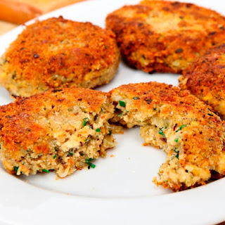 "Vegan Old Bay Tofu ""Fish"" Cakes"