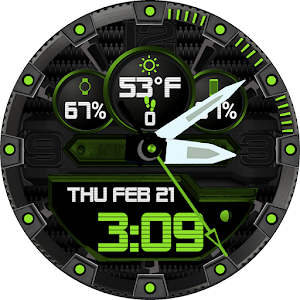 Z SHOCK 21 color changer Watchface for WatchMaker For PC / Windows 7/8/10 / Mac – Free Download