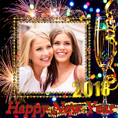 App New Year Photo Frame New Year's greetings 2018 APK for Kindle