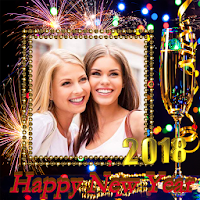 New Year Photo Frame New Years greetings 2018 on PC / Windows 7.8.10 & MAC