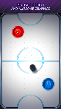 Air Hockey Space Arena APK screenshot thumbnail 2