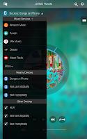 Screenshot of Wireless Audio Multiroom (Tab)