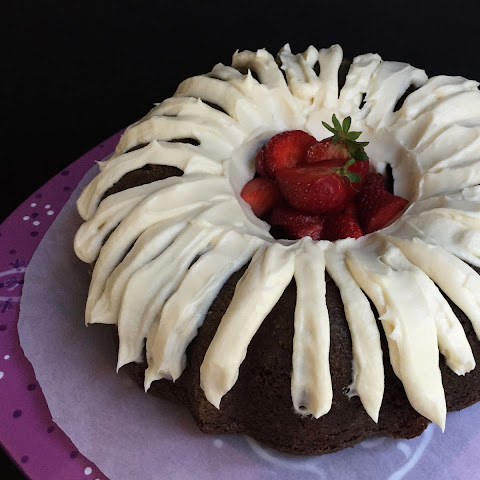 Chocolate Bundt Cake with Cream Cheese Frosting