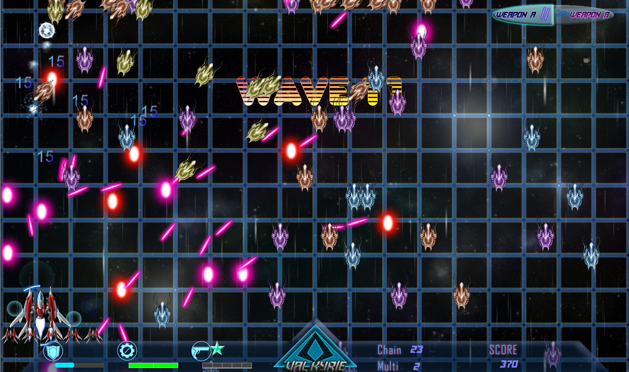 Beyond Black Space: Valkyrie Screenshot 3
