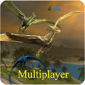 Pterodactyl Multiplayer APK for Bluestacks