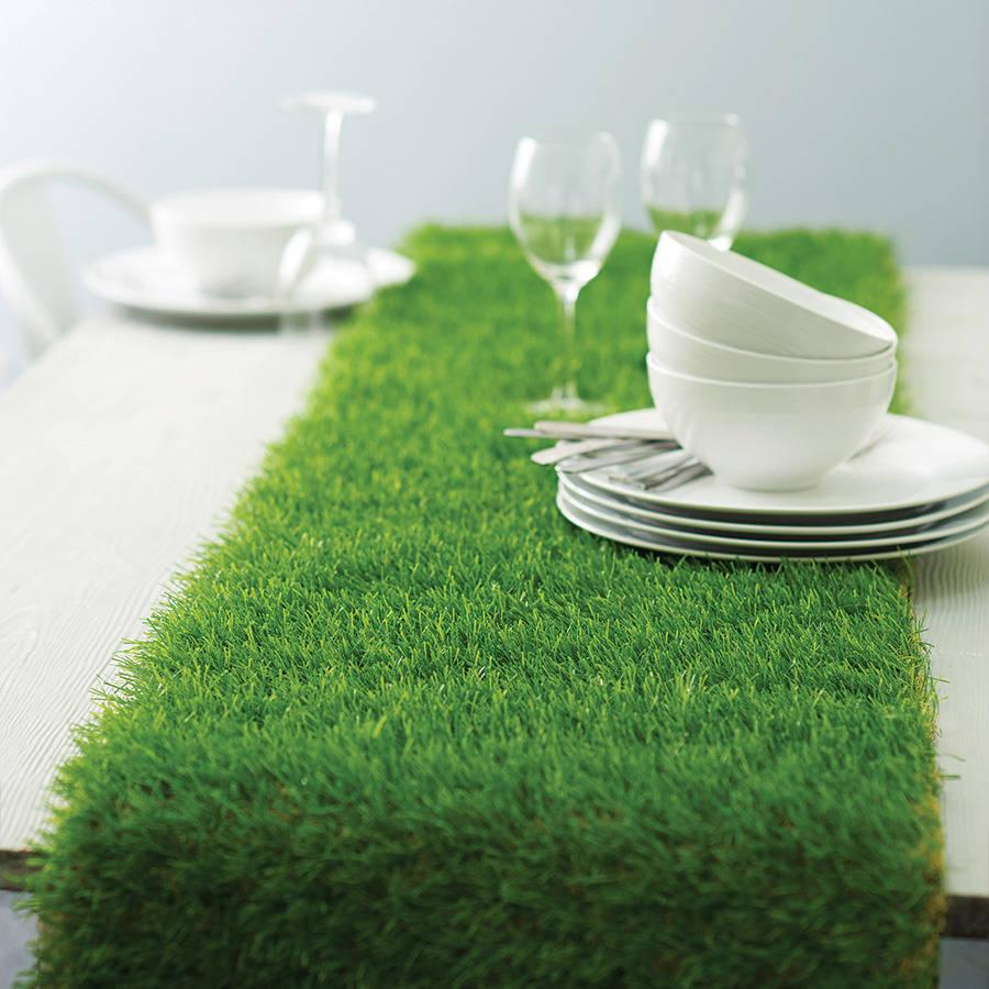 table gazon artificiel