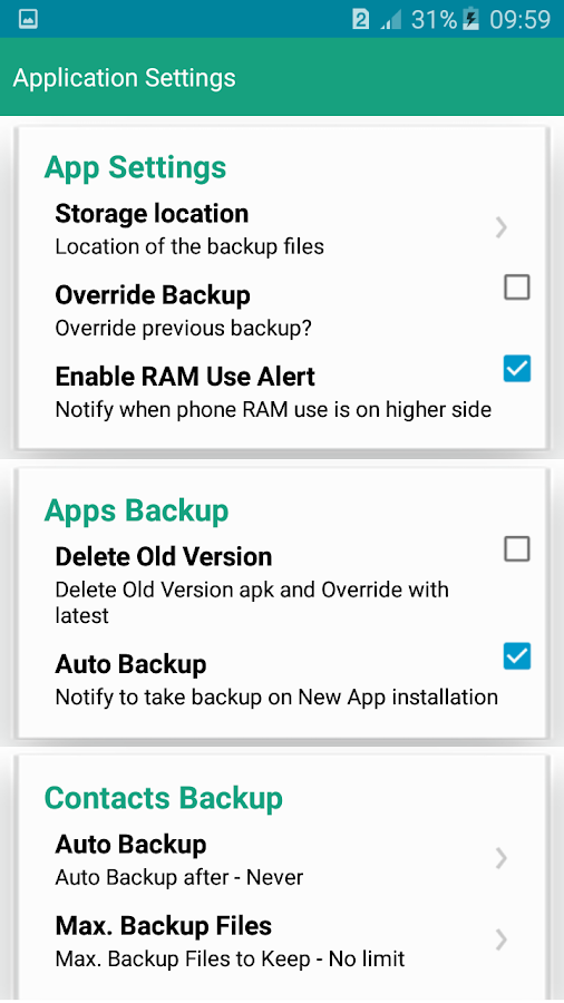 Super Backup PRO (All-In-One) Screenshot 3