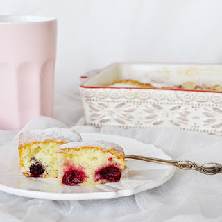 My Favorite Sour Cherry Cake