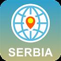 Android aplikacija Србија Карта мреже