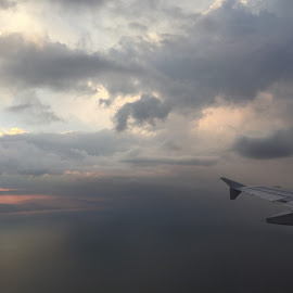 another view from the plane by Liza Del Rosario - Instagram & Mobile iPhone ( mommy, nilo, badz, milen, kyle,  )