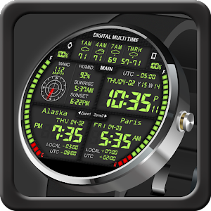 Cover art F08 3TimeZoneFace for Moto 360