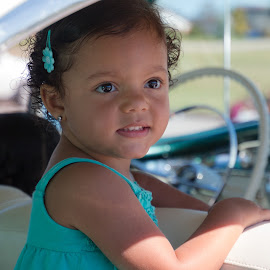 Backseat Driver by Kathy Suttles - Babies & Children Children Candids