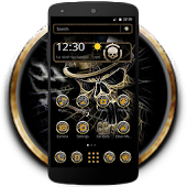 App Hell Cool Black Cranial Skull apk for kindle fire