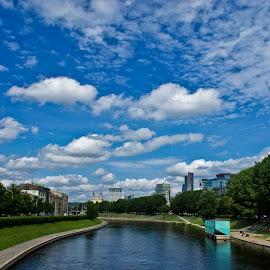 Wilno by Sandra Jarocka - City,  Street & Park  Street Scenes ( vilnius, litwa, summer, travel, wilno )