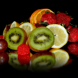 fruits with candy by LADOCKi Elvira - Food & Drink Fruits & Vegetables ( kiwi, fruits,  )