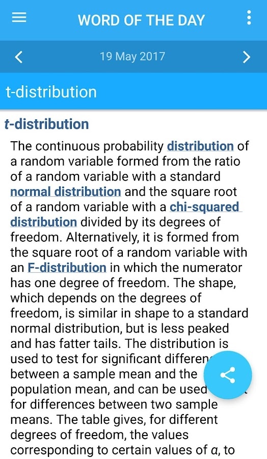 Oxford Mathematics Dictionary Screenshot 3