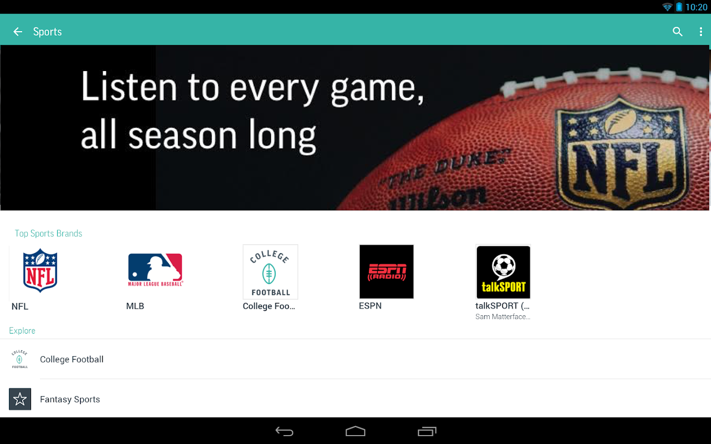 TuneIn Radio Pro - Live Radio Screenshot 6