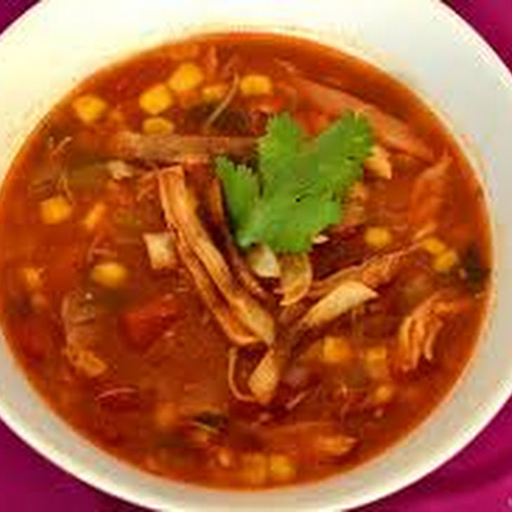 Slow Cooker Chicken Tortilla Soup Recipe | Yummly