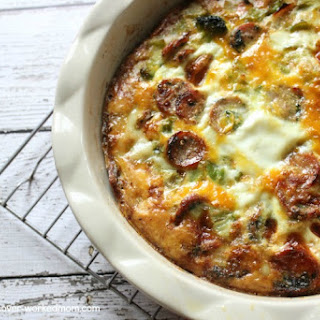 Paleo Broccoli Quiche