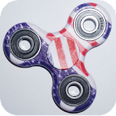 Fidget Spinner Usa Wallpaper Icon