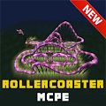 Roller coaster maps Minecraft APK for Bluestacks