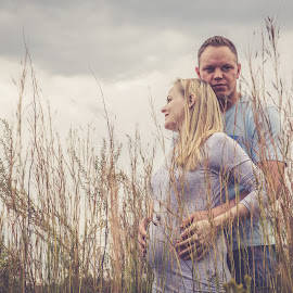 New Love by Anastasia Kloppers - People Couples ( content, love, pregnancy, happiness, newlyweds,  )