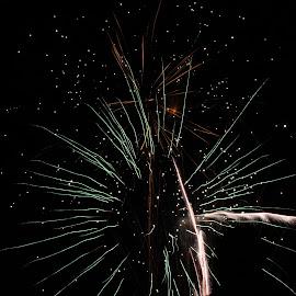 by Liz Huddleston - Abstract Fire & Fireworks