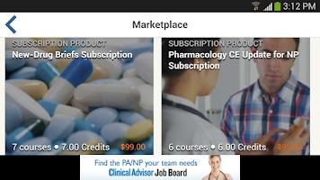 Screenshot of myCME