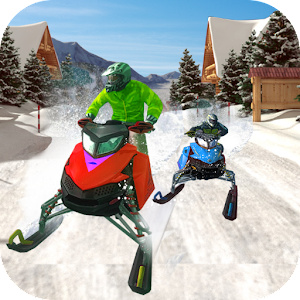 Speed Bike Snow Racing 2017 Icon